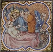 jesus heals dropsy
